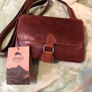 Jack George crossbody purse